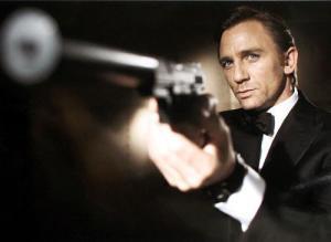James Bond. Suave. Excellence.